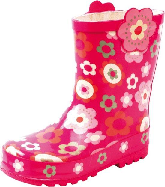 bol.com   Gevavi Boots Girls meisjeslaars roze met bloem 31 d80cb86d23a1