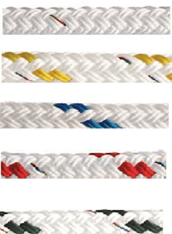 Dubbel gevlochten touw (per meter)