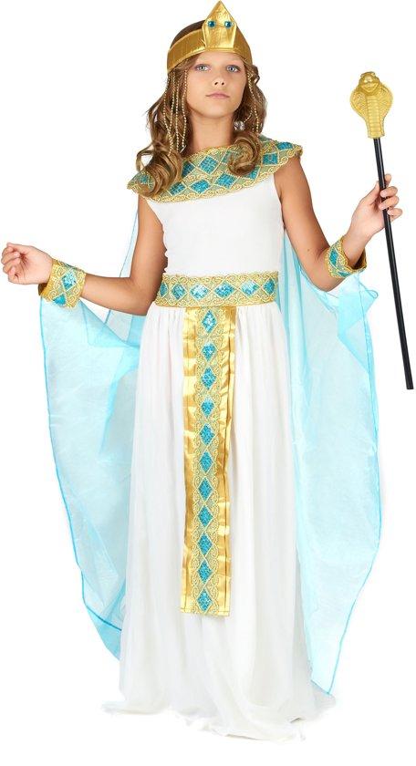 Egyptische koningin kostuum voor meisjes - Verkleedkleding - Maat 146