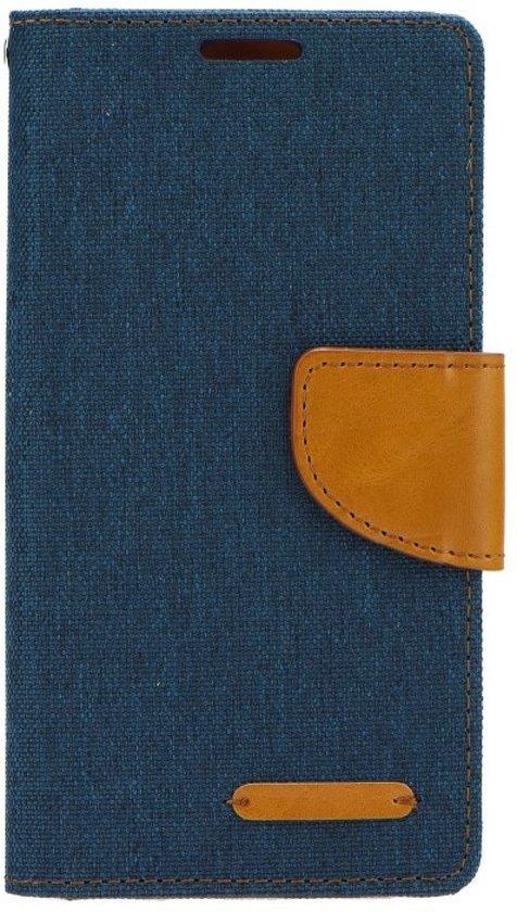 Galaxy S8 wallet - Canvas Case - Navy Blauw - JEANS