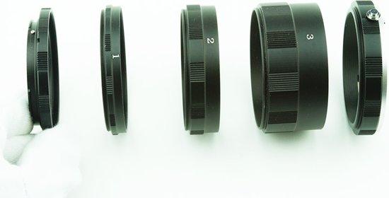 Macro Extension Tubes: Sony AF Camera Lens 3*metaal rings