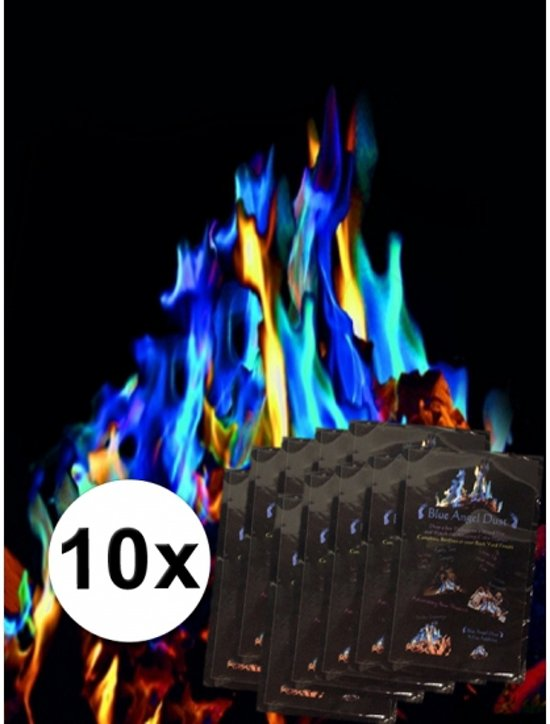 Mystical Fire - Gekleurde vlammen - 10 pakjes
