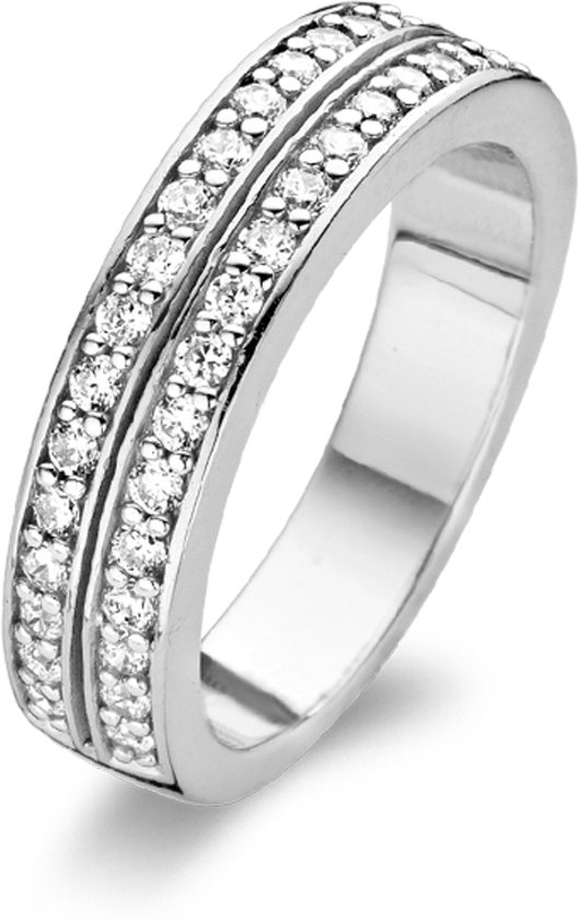 TI SENTO Milano Ring 1824ZI - Maat 52 (16,5 mm) - Gerhodineerd Sterling Zilver