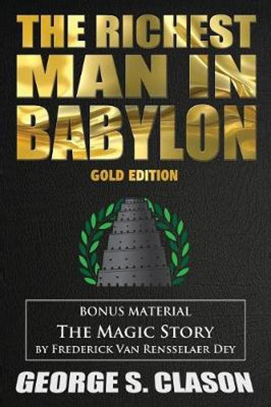 Boek cover The Richest Man In Babylon & The Magic Story van George S Clason (Paperback)