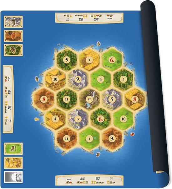 Catan playmat Gold Bordspel Speelmat