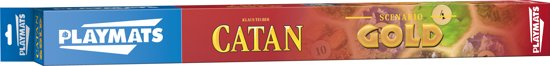 Catan playmat Gold Bordspel Speelmat