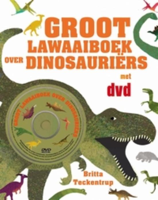 Groot Lawaaiboek Over Dinosauriers + Dvd