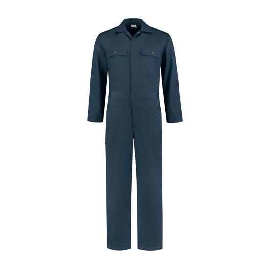 Yoworkwear Overall 100% katoen navy maat 52