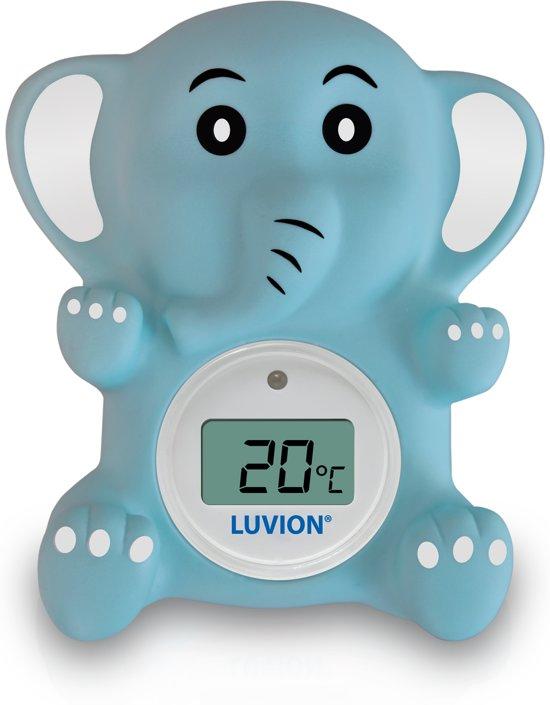 Luvion bad/kamerthermometer Olifant