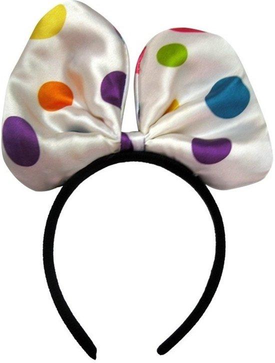 bol.com | Diadeem strik met gekleurde bolletjes, Merkloos | Speelgoed