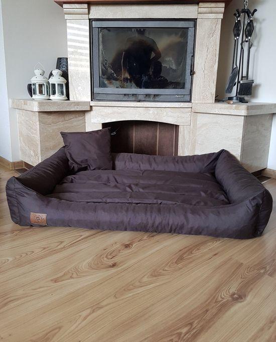 XXL Hondenbed van kunstleer - hondenkussen hondensofa kattenbed hondenkorf - waterdicht 120 X 60 cm