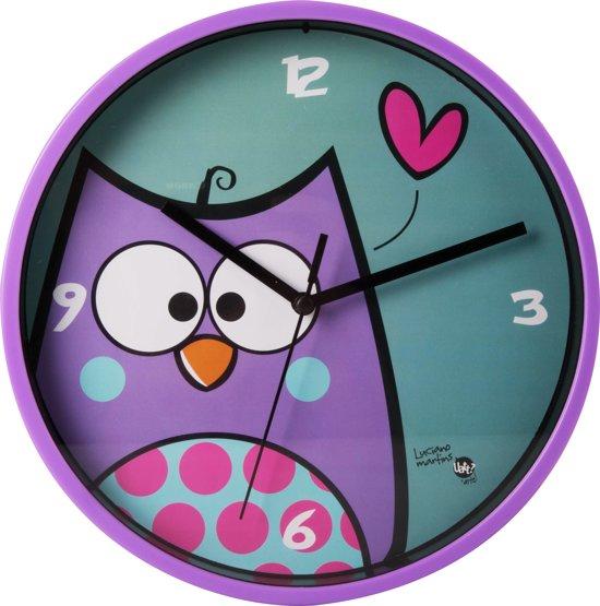 Uatt Wall Clock Uil - Wandklok - Multicolor