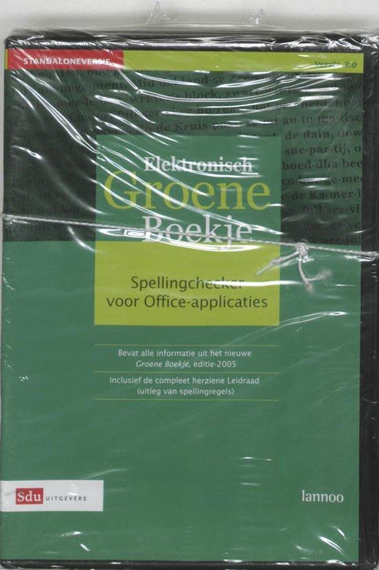 Groene Boekje + Elektronisch Groene Boekje versie 3.0