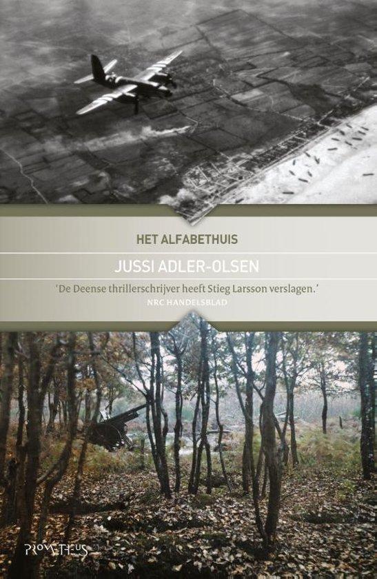 Boek cover Het alfabethuis van Jussi Adler-Olsen