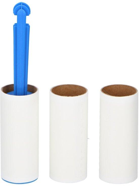 Kleefroller kledingborstel set - Pluizenroller - Stofroller voor uw kleding of bank - Huisdier haren verwijderen