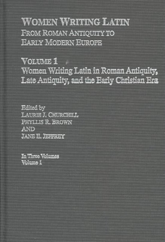 Women Writing Latin