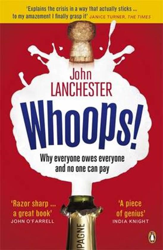 Boek cover Whoops! van John Lanchester (Paperback)