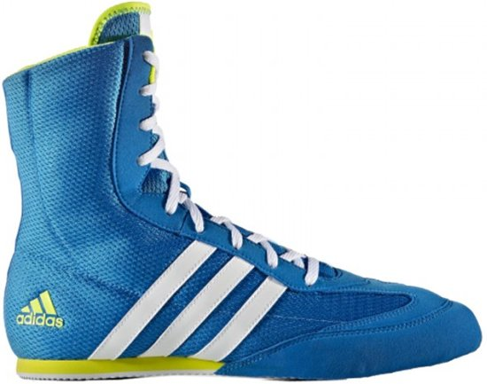 super popular adf08 28c20 Adidas Box Hog II Boksschoen Blauw-Geel-42 23