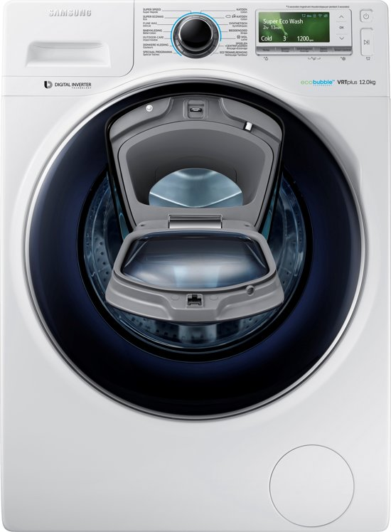 Samsung WW12K8402OW - Eco Bubble - Wasmachine