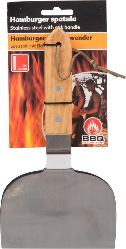 BBQ spatel - Hamburgerspatel / barbecuespatel RVS
