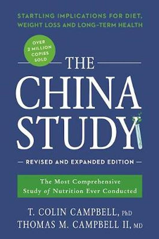 Boek cover The China Study van T. Colin Campbell (Paperback)