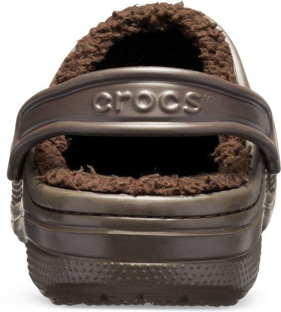 Seniorslippers Ralen Mt Unisex Bruin Clogs 39 38 Maat 38 Crocs Lined Tt4nSwgTq