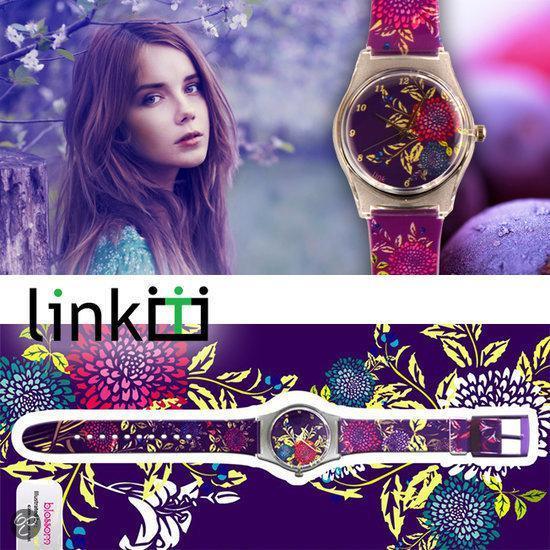 Linkgrahix horloge Blossom - diameter 34 mm