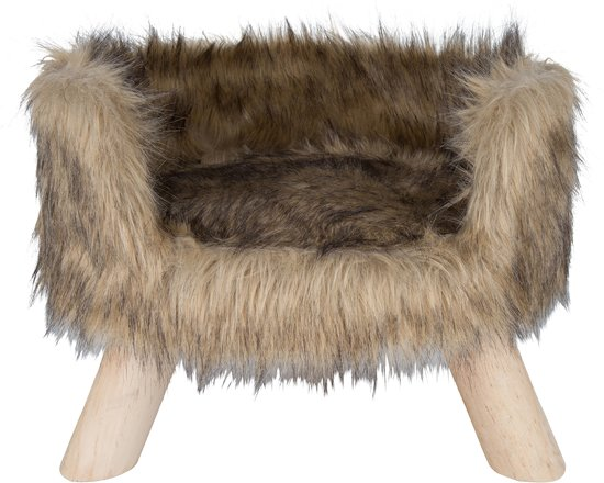 District 70 NORDIC Kattenmand - Bruin - 40 x 40 x 35 cm