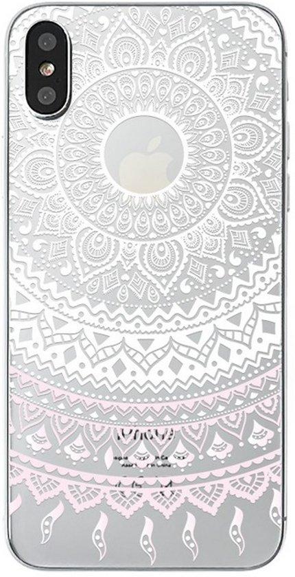 iPhone X / XS - hoes, cover, case - TPU - Transparant - Dromenvanger