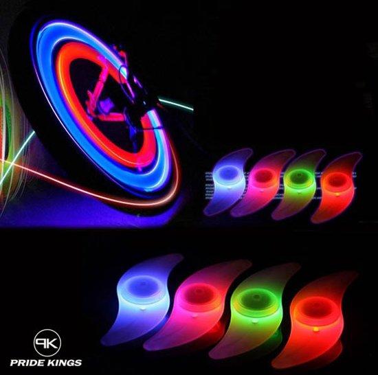 bol.com | LED fietswiel verlichting premium set van 2 stuks - Pride ...