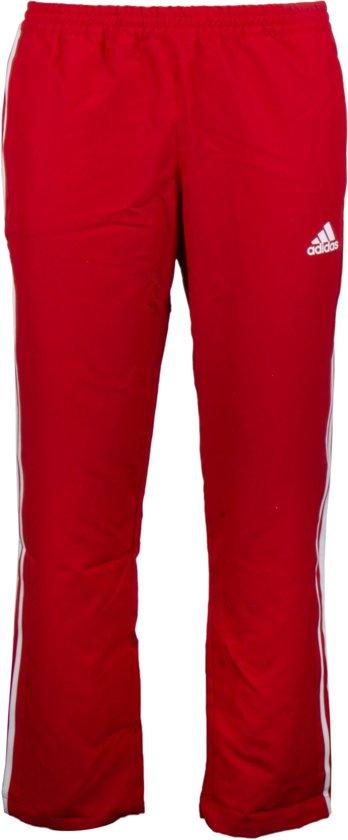 adidas T16 Team  Sportbroek - Maat S  - Mannen - rood/wit