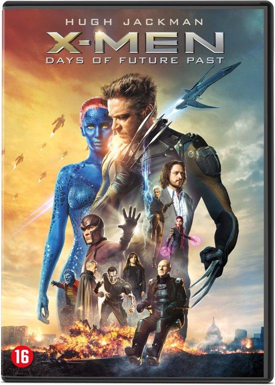 DVD cover van X-Men: Days of Future Past
