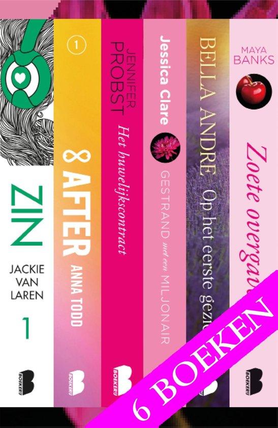 Zinderende liefdesromans, 6-in-1 bundel