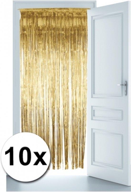 bol.com | Gouden deur gordijnen 10x, Smiffys | Speelgoed