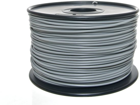 Clp 3D-Filamenten - ABS (1 kg) - grijs, 3 mm
