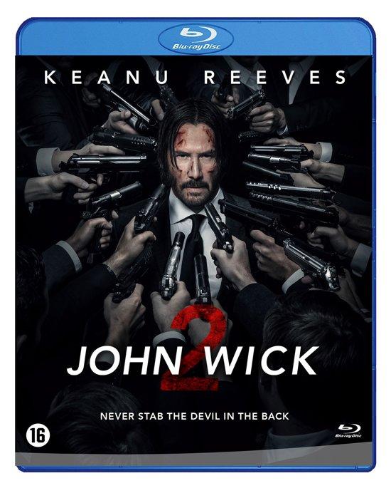 DVD cover van John Wick 2 (Blu-ray)