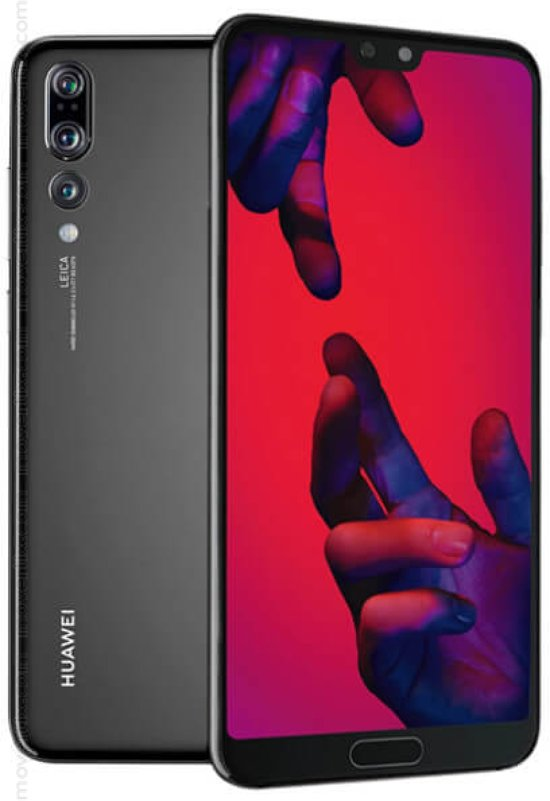 Huawei P20 Pro - 128GB - Single Sim -  Zwart