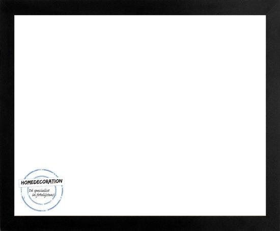 Homedecoration Misano – Fotolijst – Fotomaat – 71 x 96 cm  – Zwart mat