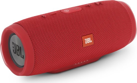 JBL Charge 3 - Draagbare Bluetooth Speaker - Rood