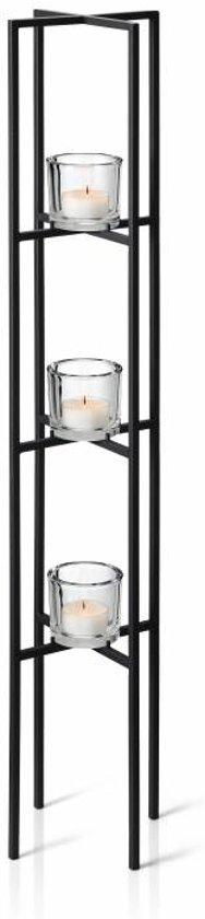Blomus vloerkandelaar Nero 3 kaarsen 100 cm