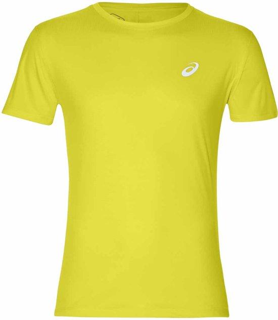 Asics Sportshirt - Maat XL  - Mannen - geel