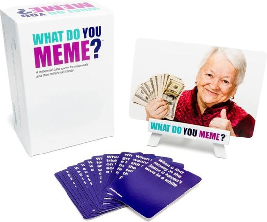 What Do You Meme? – Meme kaartspel – Memes - Hét Spel voor Feestjes!