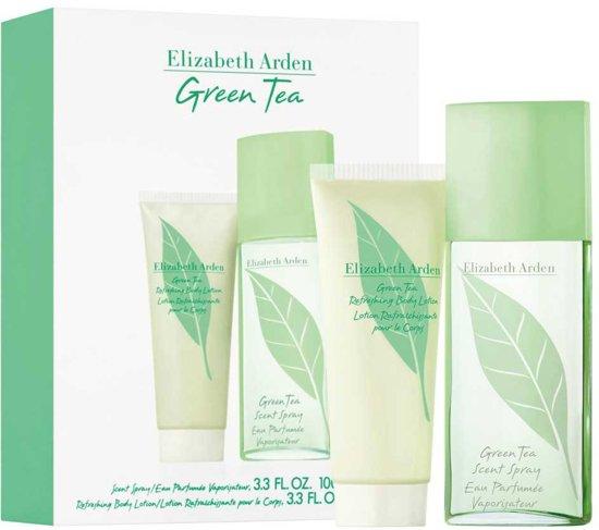 Elizabeth Arden Green Tea 100ml Scent Spray / 100ml Body Lotion