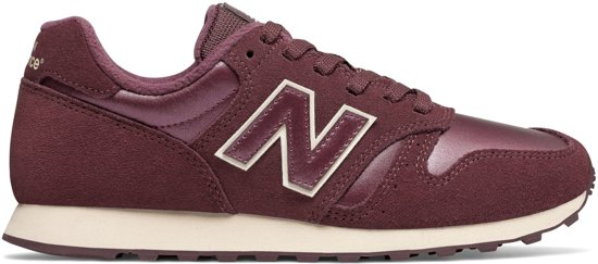 new balance dames bordeaux rood