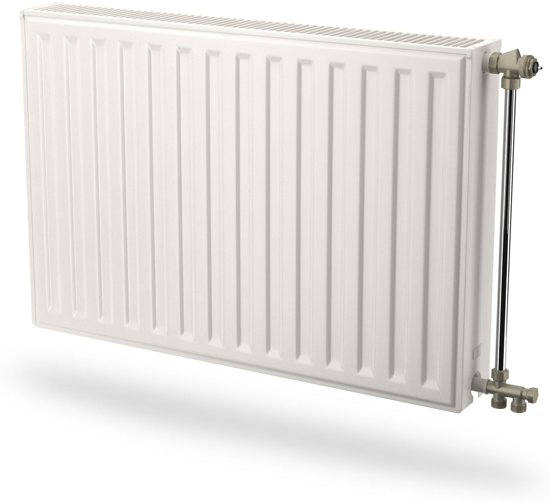 Radson paneelradiator Compact, staal, wit, (hxlxd) 450x2250x106mm, 22