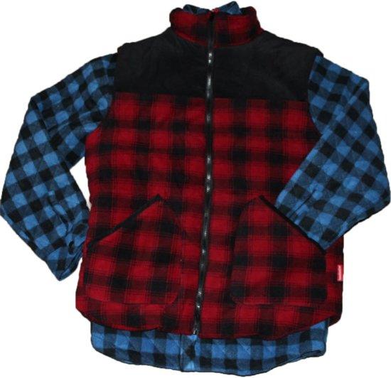 zwart Canadian 2xl Line 10305 Thermohemd Rood blauwZwart qVSULzMpG