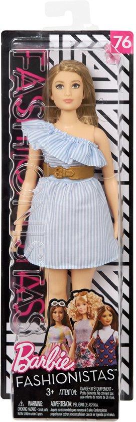 Barbie Fashionistas Pinch Of Pinstripes - Curvy - Barbiepop