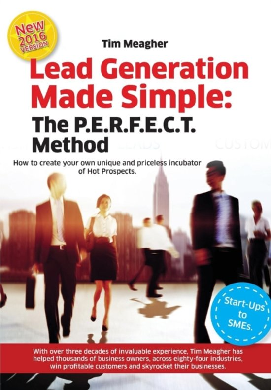 Boek cover Lead Generation Made Simple van Timothy Joseph Meagher (Paperback)