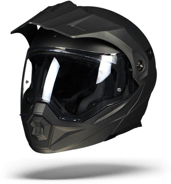 Scorpion ADX-1 Grijs Systeemhelm - Motorhelm - Maat L