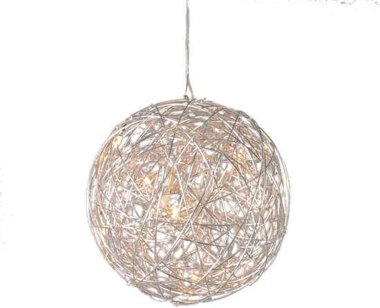 8x Hanglampen Inspiratie : Bol.com qazqa draht 40 hanglamp 8 lichts Ø40 cm aluminium